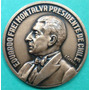 Medalla Eduardo Frei Montalva Presidente De Chile