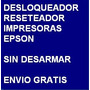 Desbloqueador Reset Impresora Epson T60 - Envio Por Internet