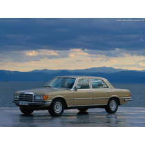 Libro Despiece Mercedes Benz 280s - 280se, 1972-1980.