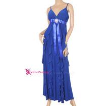 Elegante Vestido Azul Rey. Ideal Fiesta, Bodas, Eventos.