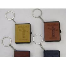 Mini Biblia Llavero, Libro Miniatura Versión En Español