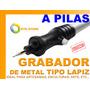 Grabador De Metal A Pilas Tipo Lapiz Artesania Arte Vidrio