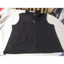 Poleron Sin Mangas Dockers Outdoor Talla M Color Negro