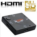 Nuevo Switch Hdmi Hub 3 D, Multipuerto 1080p Splitter Hdtv