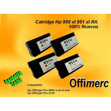 Catridge  950-951 Xl Alternativo. Officejet Garantia
