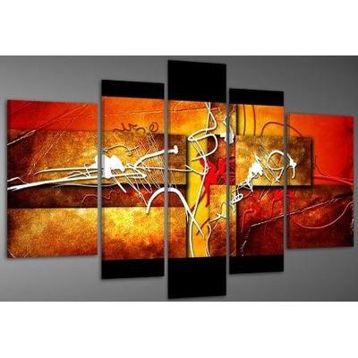 Cuadros abstractos modernos polipticos decorativos 80 Cuadros tripticos modernos para comedor