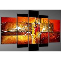 Cuadros Abstractos Modernos,polipticos Decorativos