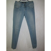 Pantalones Mujer Jeans Claros Trf De Tienda Zara Nuevos 36