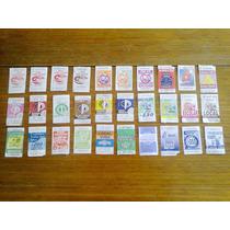 Lote 3 - 40 Boletos Antiguos De Buses Valparaíso