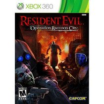 Resident Evil Operation Raccoon City Xbox Nuevo Sellado