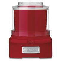 Maquina Yogurt, Helado Y Sorbete Cuisinart Ice-21r Rojo