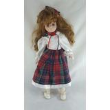 Muñeca De Porcelana Marca Sabre Preciosa