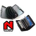 Pack 3 Billeteras De Aluminio Resistente Porta Tarjetas Meta