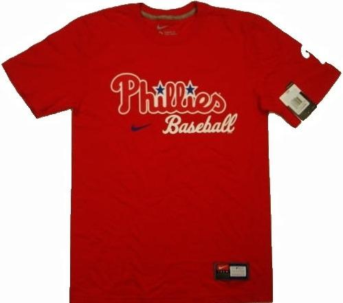 f6f4b2b325b8d Polera Mlb Philadelphia Phillies By Nike Original Talla S