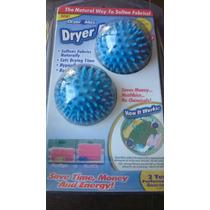 Bola De Secado Para Secadora De Ropa Dryer Ball X 2 Unidades