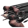 24 Brochas De Maquillaje En Pelo Natural. Envío A Regiones