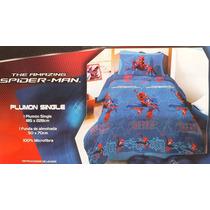 Plumon Hombre Araña, Spiderman Single