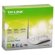 Tp-link Access Point Repetidor 150mbps Tl-wa701nd Poe Wifi