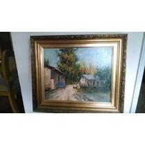 Vendo Acrílico Del Reconocido Pintor Raúl Ulloa Burgos , Con