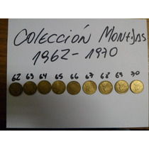 Vendo Monedas Chilenas 1962 Al 1970