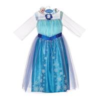 Frozen Elsa Disfraz Orig Disney Usa Talla 4-6