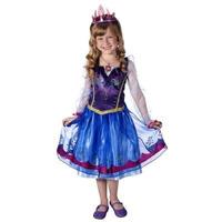 Anna Frozen Disfraz Original Disney Talla 4-6 Unica