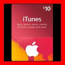 Itunes 10 Usd Tarjeta Prepago Apple Americana Dolares Oferta