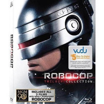 Robocop Trilogy Collection - Pack Blu Ray Nuevo Y Sellado