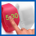 Reloj Led Silicone Unisex Relojes Tecnología Touch