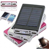 Cargador Solar 20000mah Bateria Linterna Led / Ekipofertas