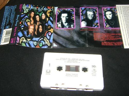 Cassette Bang Tango - Psycho Cafe 1989 Mca