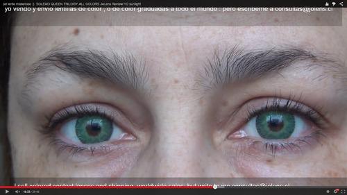 fb7f4850c39b6 Lentes De Contacto Italiano Soleko Trilogy Light Green