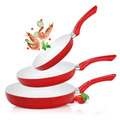 Pack 3 Sartenes De Ceramica Ceramic Pro Original 5 Piezas
