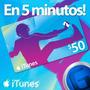 Tarjeta Itunes Gift Card 50 Usd Iphone - Entrega Inmediata!