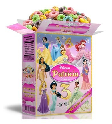 Kit Imprimible Princesas Disney Cotillón 100%editable 2x1