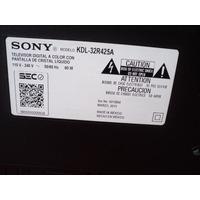 Tv Sony Led 32 Kdl-32r425a Pantalla Quebrada En Desarme
