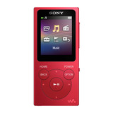 Sony Reproductor De Música Digital Walkman  Nw-e393 Rojo