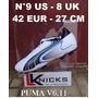Puma V6.11 N°9 Us - 8 Uk - 42 Eur - 27 Cm