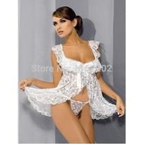 Hermoso Baby Doll Blanco, Sexy Erotico
