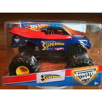 Monster Jam Superman Hot Wheels Escala 1/24