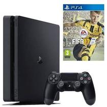 Playstation 4 Slim + Fifa 17 (ps4) - Sniper Game