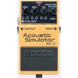 Pedal Boss Ac-2 Acoustic Simulator - Hasta 12 Cuotas