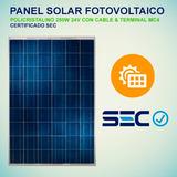 Panel Solar Fotovoltaico 250w 24v Certificado Sec