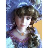 Hermosa Muñeca De Porcelana   23.800.- Pesos