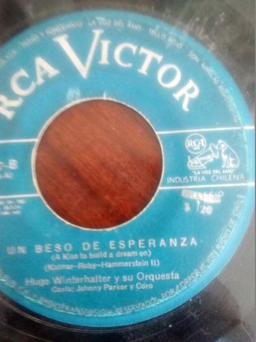Vinilo Single De Hugo Winterhalter - Tango Azul  ( T85