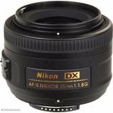 Lente Nikon 35mm F/1.8g Af-s Dx | Envío Gratis