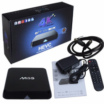 Android Tv Box M8s Cpu Quad Core 2.0 Ghz - Ram 2 Gb Ddr3