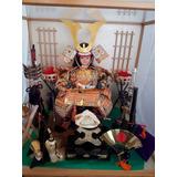 Precioso Samurai De Coleccion Con Vitrina