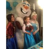 Animacion De Frozen  Olaf Elsa Y Anna En Tu Fiesta Congelada