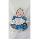 Preciosa Bebe Cabecita De Porcelana Louise Año 83
